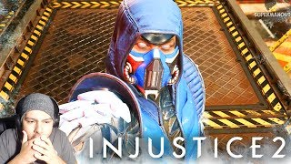THE DREAM SUB-ZERO!!!!! - Injustice 2 Sub-Zero Gameplay REACTION! - Injustice 2