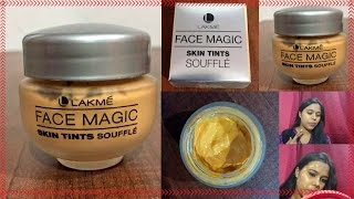 lakme face magic skin tints souffle | Review & Demo