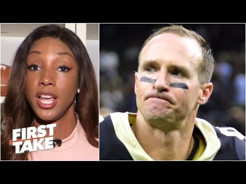 Maria Taylor Shares A Passionate Message On Drew Brees' Comments And Apologies | First Take