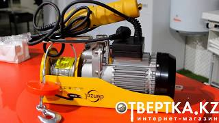 Лебёдка (тельфер) электрический Denzel(Тельфер электрический представляет собой устройство, предназначенное для подъёма грузов. Управление прои..., 2014-10-01T08:05:58.000Z)