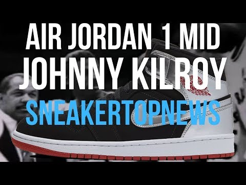 "This Air Jordan 1 Mid Takes It Back To ""Johnny Kilroy"""
