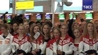 Олимпийскую сборную России проводили на Игры в Рио