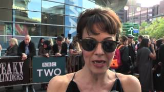 Helen McCrory - Peaky Blinders Season 2 - World Premiere Interview