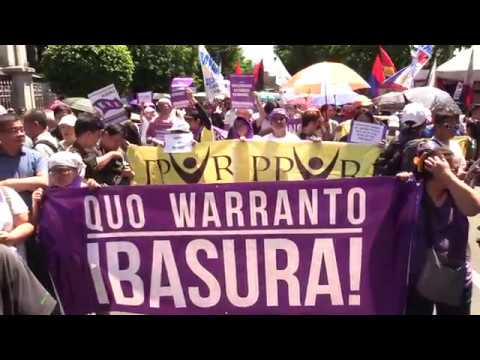 Group wants 5 justices who testified against Sereno to resign