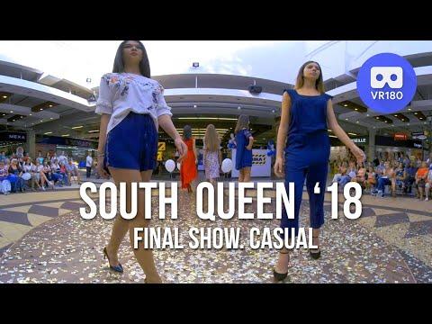VR180 3D. Южная Королева 2018. Финал. Повседневная одежда