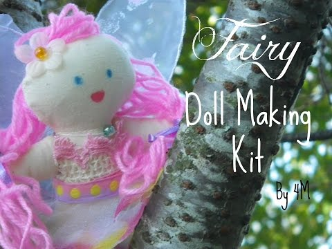 Fairy Doll Making Kit By 4M | Unboxing, Creating And Reviewing |