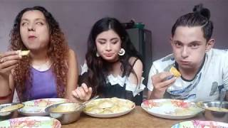 MOMO CHALLANGE with AYUSH SHRESTHA and ARPANA KC  || FUNNIEST VIDEO ||