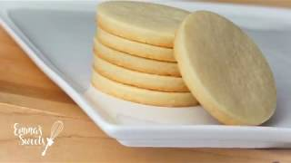 NO SPREAD Sugar Cookie Recipe by Emma's Sweets