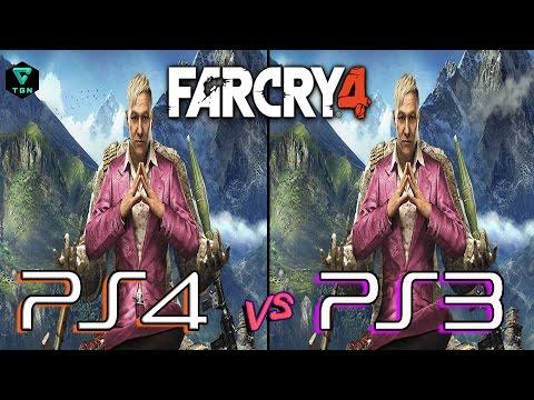 Far Cry 4 Ps4 vs PS3 Comparación Gráfica Video+gameplay Minuto 09:00