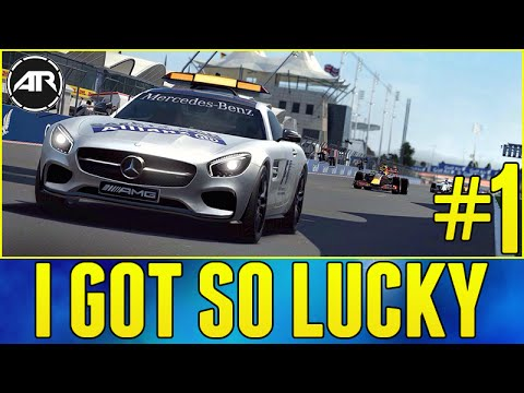 F1 2016 : SAFETY CAR SAVED ME!!! (F1 2016 Career Mode Gameplay, Australia GP)