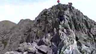 Mount Katahdin - 5 - On the Knife Edge Trail
