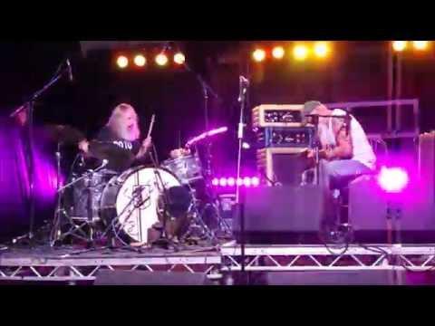 Leopallooza Seasick Steve - Thunderbird Finale! Live Music Festival Cornwall 29th July 2016