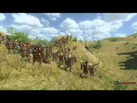 Warband Game - Motion Capture And Sword Fight Show