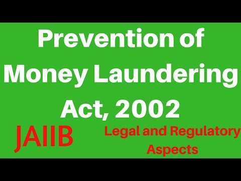 JAIIB- The Prevention of Money Laundering Act, 2002 by Subham Burnwal