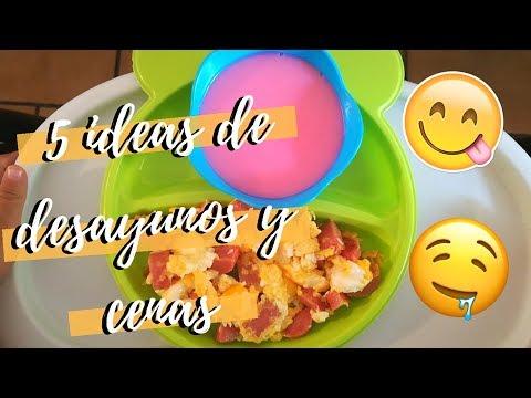 5 ideas fáciles de desayunos y cenas | Para toda la familia | TODASPARAUNA