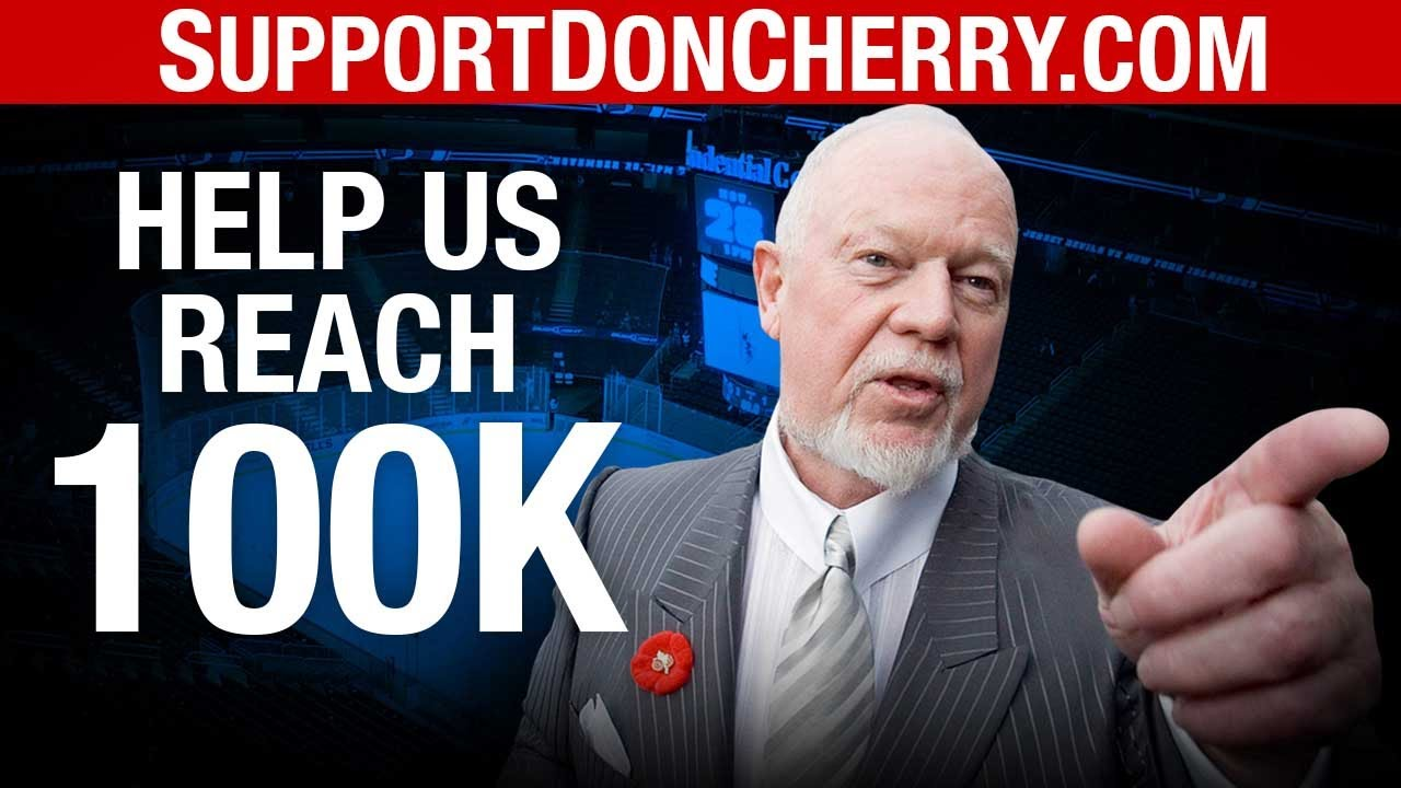 SUPPORT DON CHERRY: Let's get to 100,000 names before November 19!   David Menzies