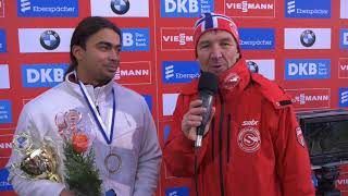 Interview with Asian Luge Champion Shiva Keshavan from India