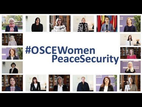 18 Women Heads of Delegation on Women, Peace and Security