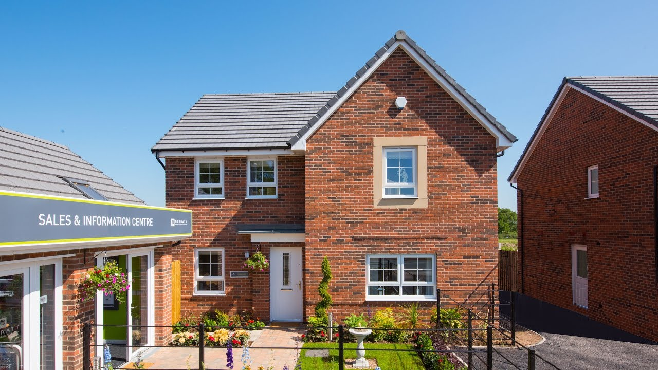 5 Homes That Prove That Less Is More: Barratt Homes, The Radleigh Show Home, North Yorkshire