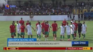 Amedspor - Cizrespor hazırlık maçı 1-1'lik skorla bitti
