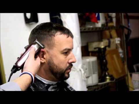 Barber Student Cut: Mid Fade w/ Shear work