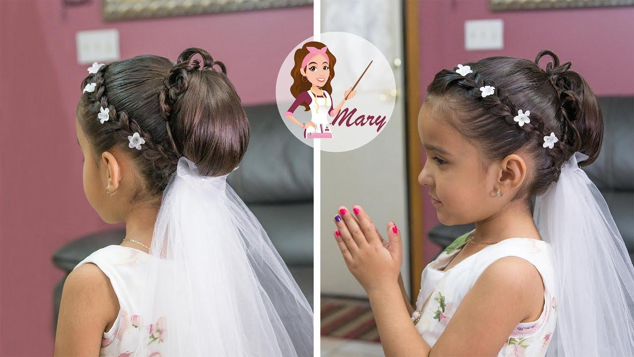 Imagenes de peinados para primera comunion 2016