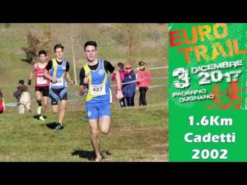 Paderno Dugnano 1600m cadetti 2002 4°EUROTRIAL 3 Dicembre 2017