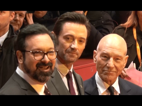 4K | World Premiere LOGAN - THE WOLVERINE at Berlin Film Festival Berlinale 2017