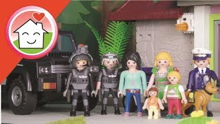 Playmobil Polizei Film deutsch Kommissar Overbeck Die Alarmanlage von family stories