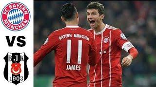 Bayern München vs Besiktas 5-0 All Goals   Highlights football  - HD