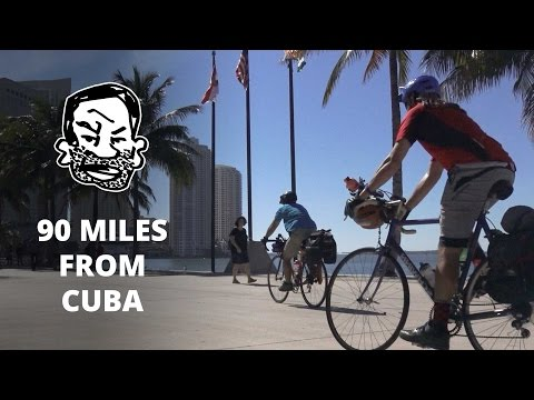 We suck at bikepacking - Biking to Key West EP1