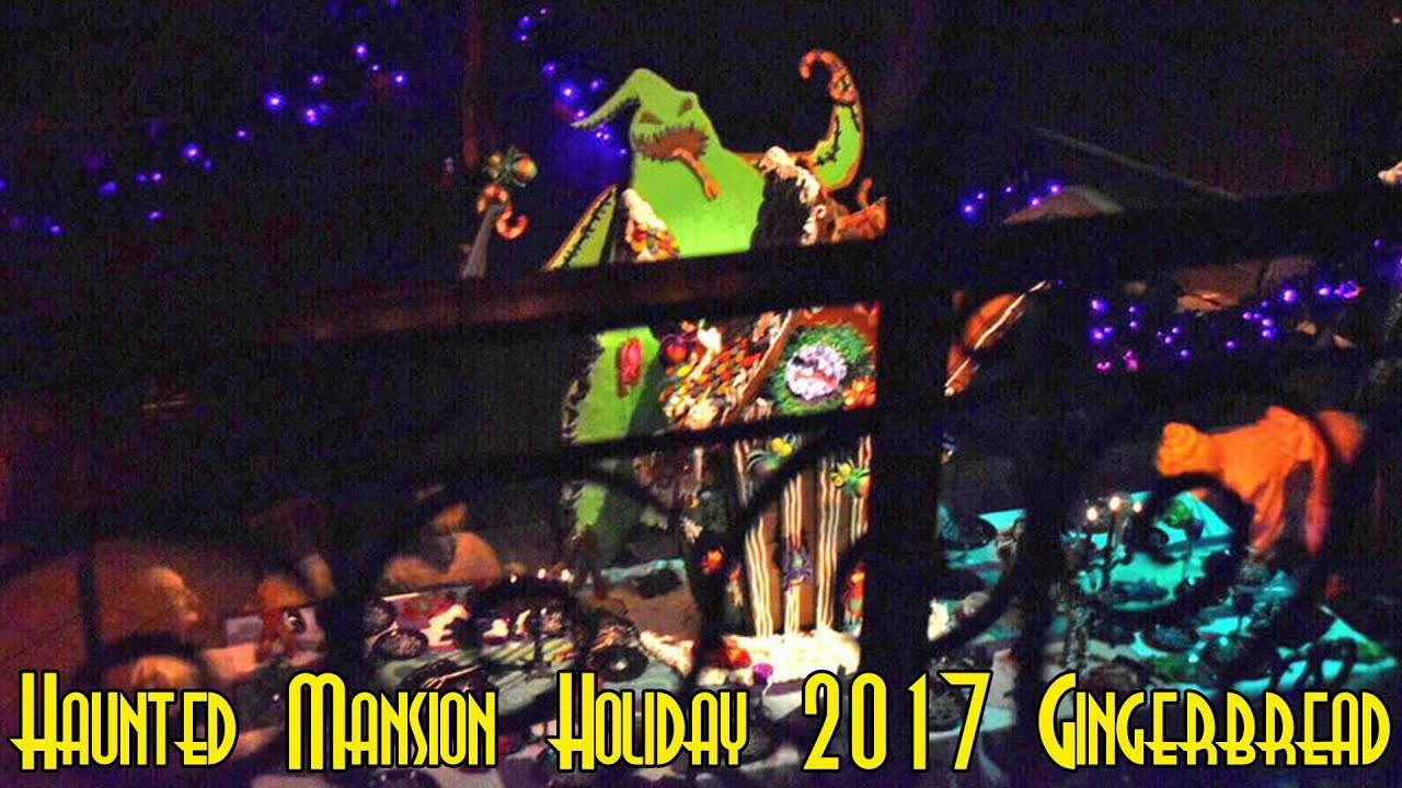 Haunted Mansion Holiday Foyer Music : Haunted mansion holiday oogie boogie gingerbread