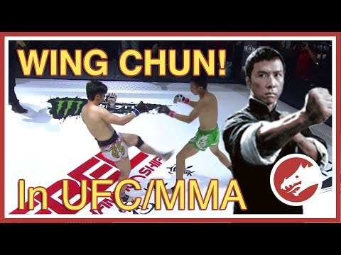 WingChun in UFC / MMA!
