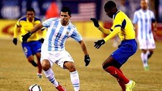 Gol de Sergio Agüero | Amistoso Internacional - Argentina (2) Ecuador (1) 31-03-2015 | ᴴᴰ