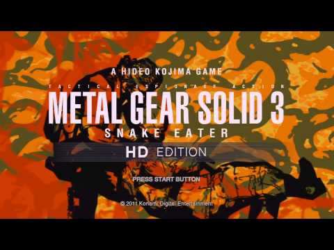 Metal Gear Solid 3: Snake Eater - Title Screen & CQC Theme