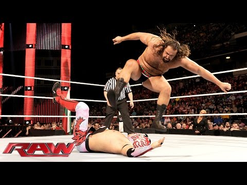 Kalisto vs. Rusev: Raw, February 1, 2016