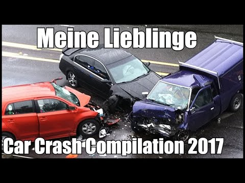 Car Crash Compilation 2017 | Meine Lieblinge | Auto Crash Compilation