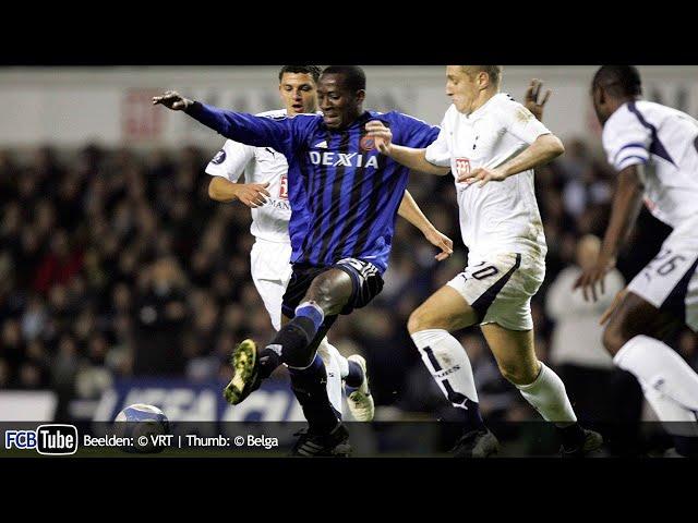 2006-2007 - UEFA-Cup - 06. Groep B Match 2 - Tottenham Hotspur - Club Brugge 3-1