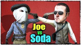 ЭПИЧНАЯ ДУЭЛЬ ДЖО СПИН VS СОДА НА ВСЕХ ВИДАХ ОРУЖИЯ (Joe Speen vs Soda Effect, смешные моменты)