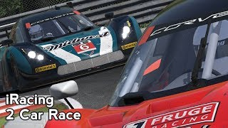 iRacing : 2 Car Race (IMSA Corvette DP @ Montreal)
