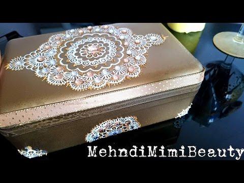 diy henna inspired jewelry box bo te bijoux youtube. Black Bedroom Furniture Sets. Home Design Ideas