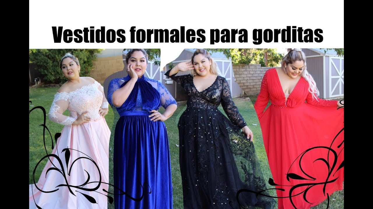 Vestidos Formales Para Gorditas De Jjshouse