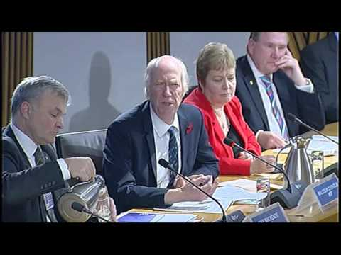 Health and Sport Committee - Scottish Parliament: 10th November 2015