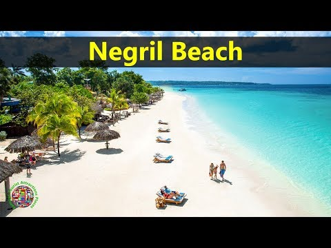 Best Tourist Attractions Places To Travel In Jamaica | Negril Beach Destination Spot