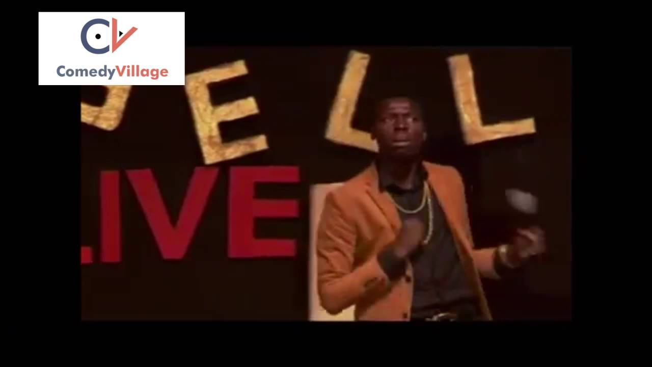 Osama and Akpororo at Acapella's comedy goes to church