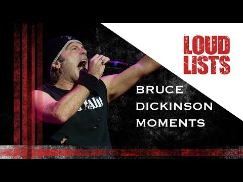 10 Amazing Bruce Dickinson Onstage Moments