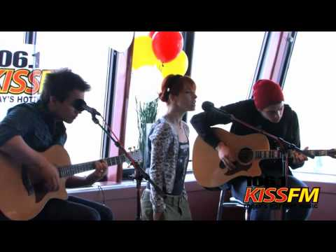 Paramore - Brick By Boring Brick (KISS FM Seattle, 12.05.10)