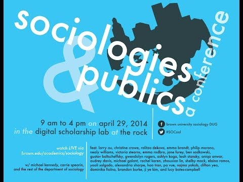 Sociologies and Publics - A Conference