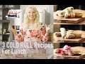 Three Healthy COLD ROLL Recipes for LUNCH | High PROTEIN