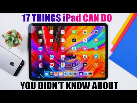 17 Things iPad CAN DO You Didn't Know About !